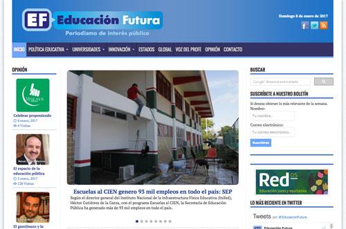 Sitio Educación Futura